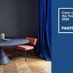 E' blu il colore dell'anno per Pantone. Come utilizzarlo in casa e nell'arredo