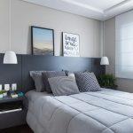 10 modi per arredare una camera da letto piccola.