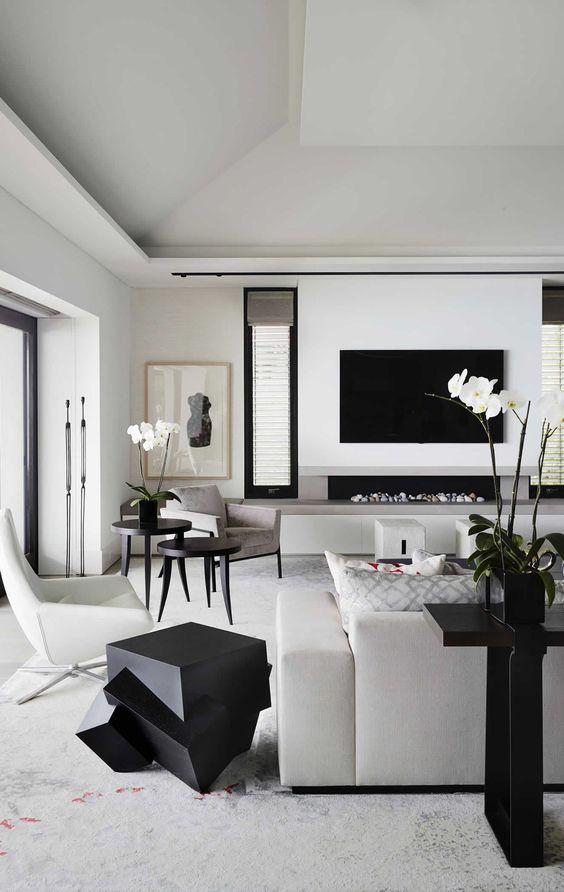 Progettare un soggiorno con tv moderno: 7 regole per una ...